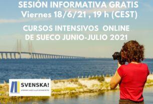 cursos intensivos online sueco